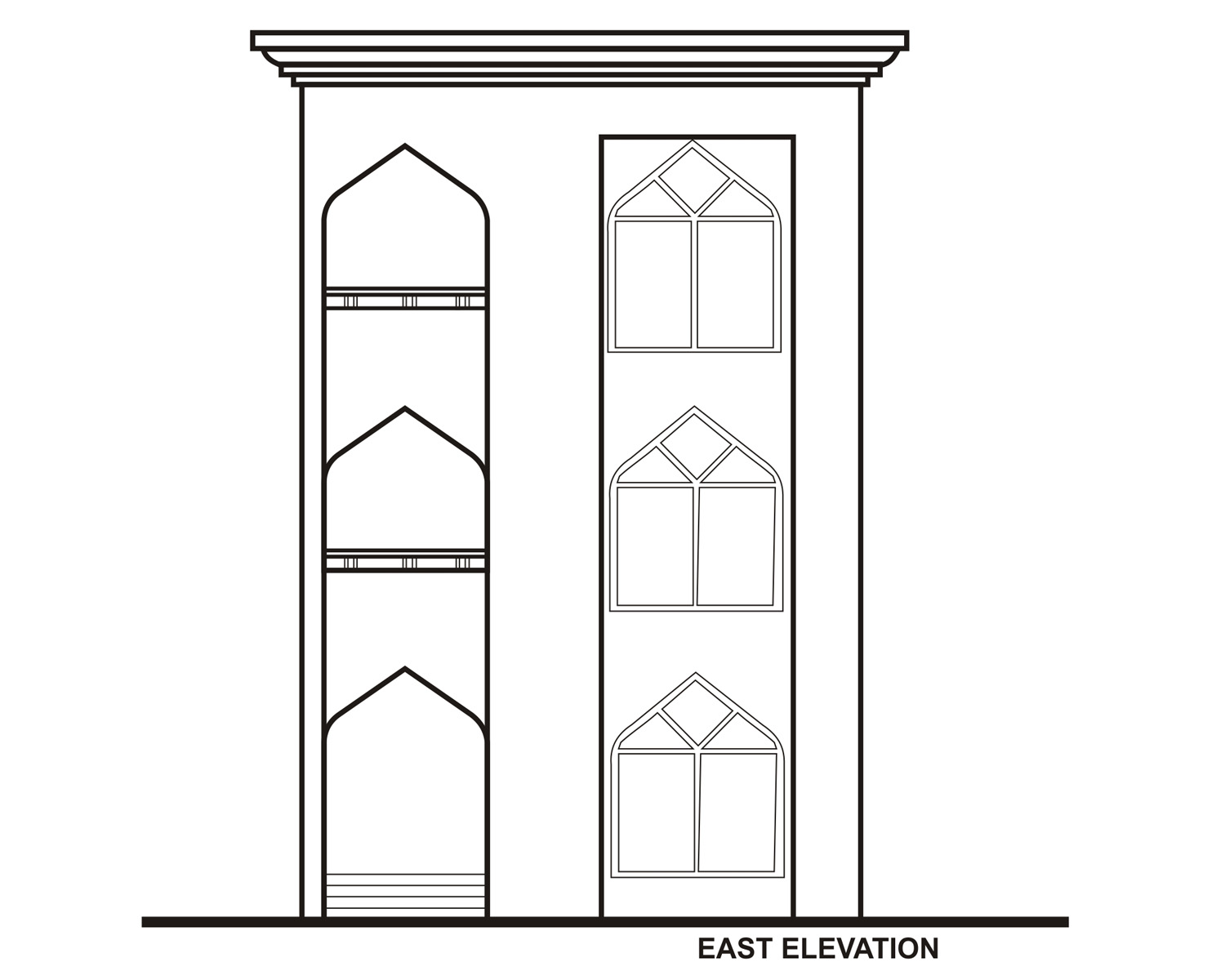 8East Elevation